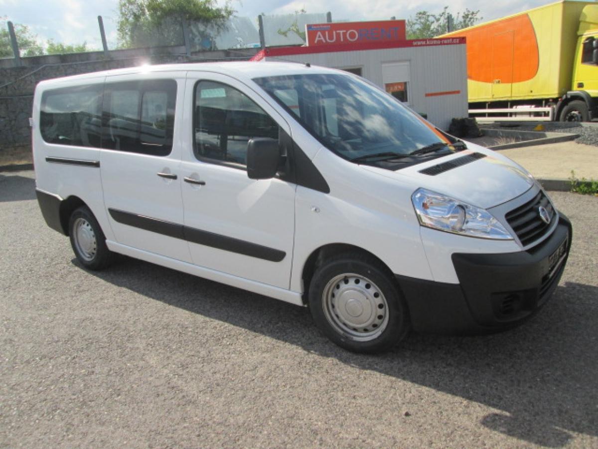 Fiat Scudo 2,0 l  JTD, 9 sedaček