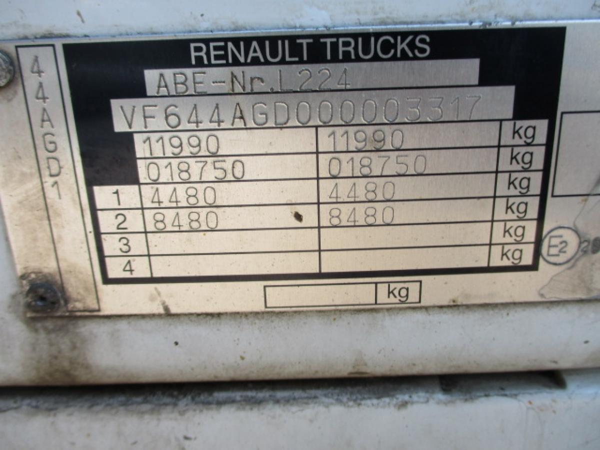 Renault  Midlum 12.220 aut.