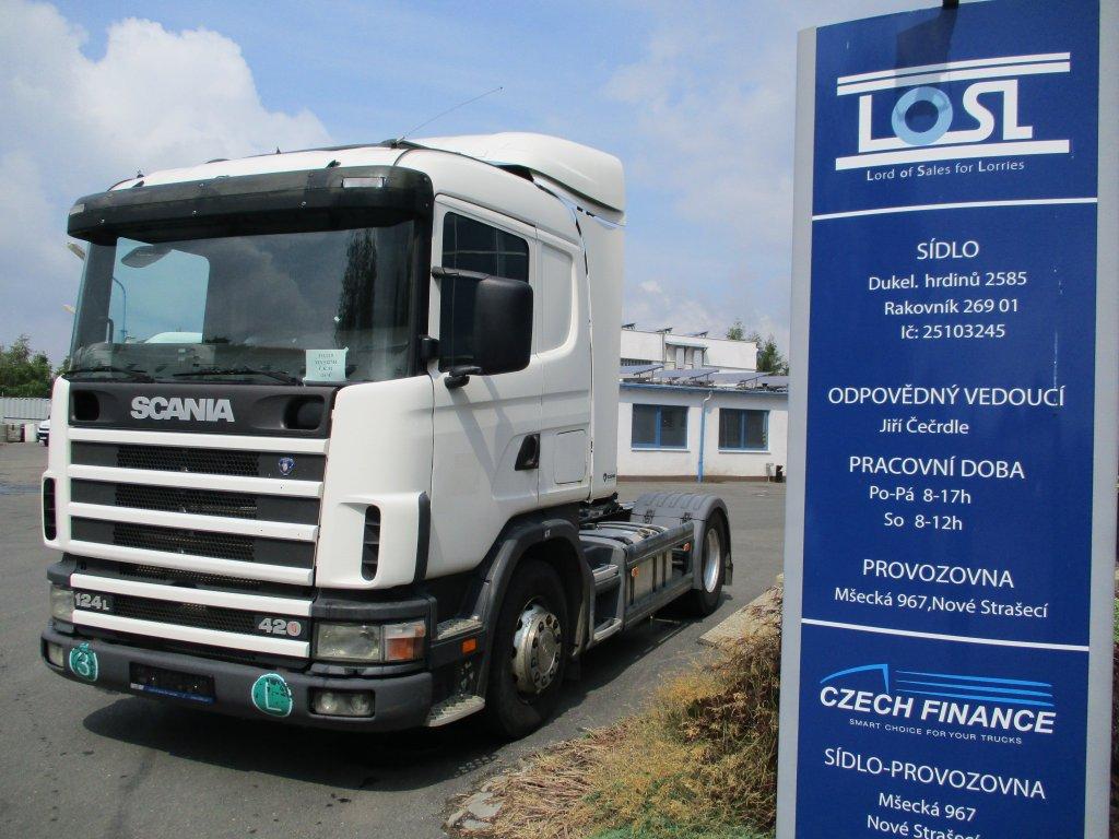 Scania  124L420 EURO 3