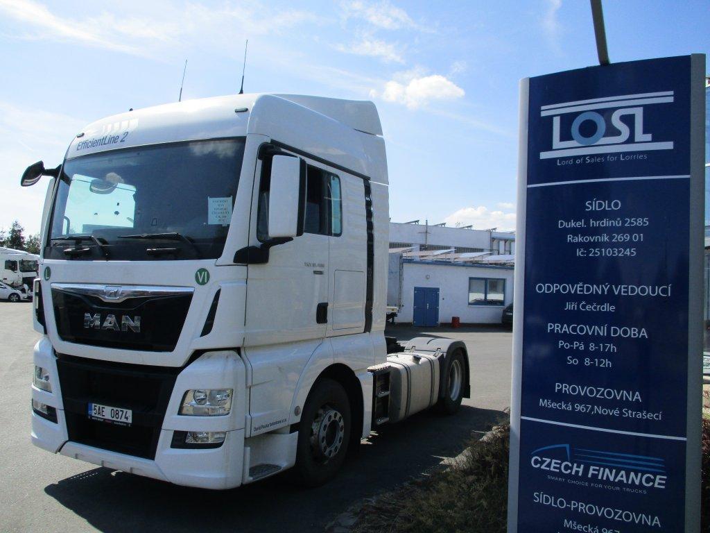 MAN  TGX18.480 EURO 6