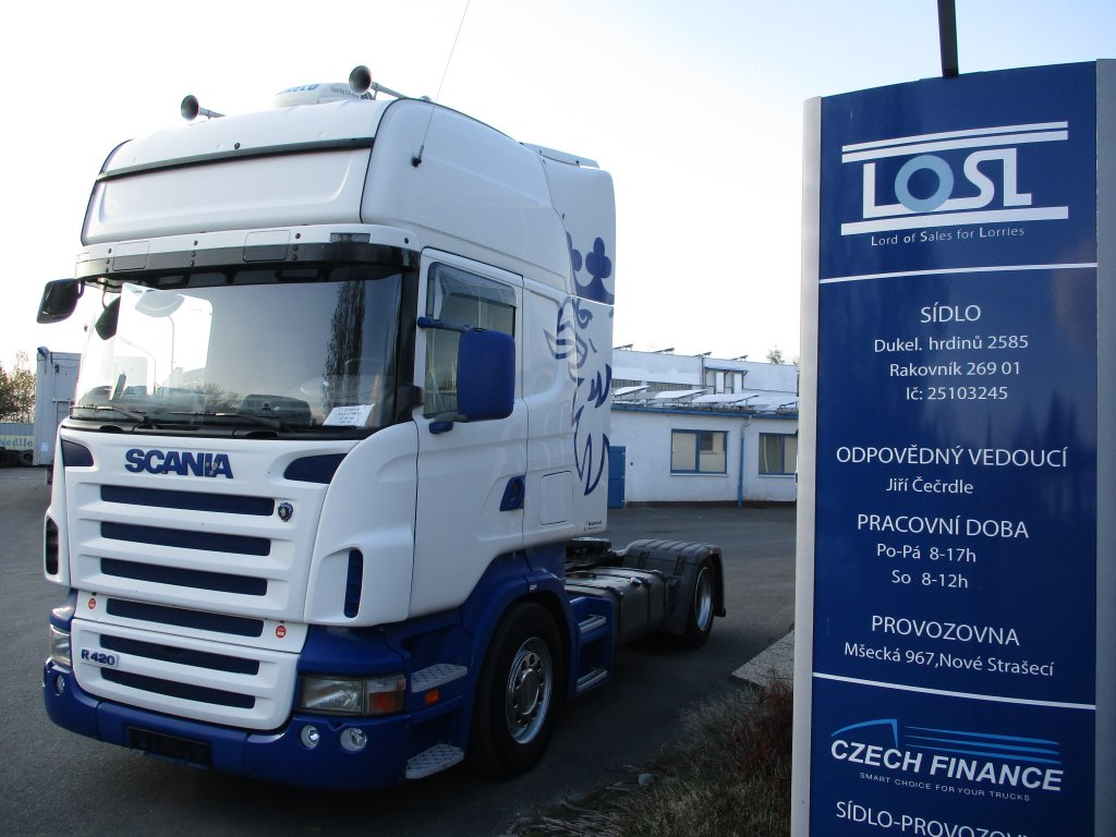 Scania  R420 EURO 4 MEGA/lowdeck