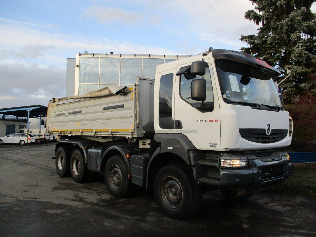 Renault  Kerax 450 8x4 S3 Euro5