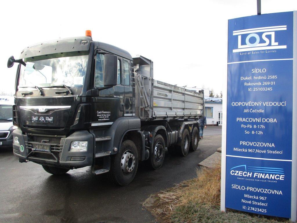 MAN  TGS35.440 8x4 EURO 6 S3