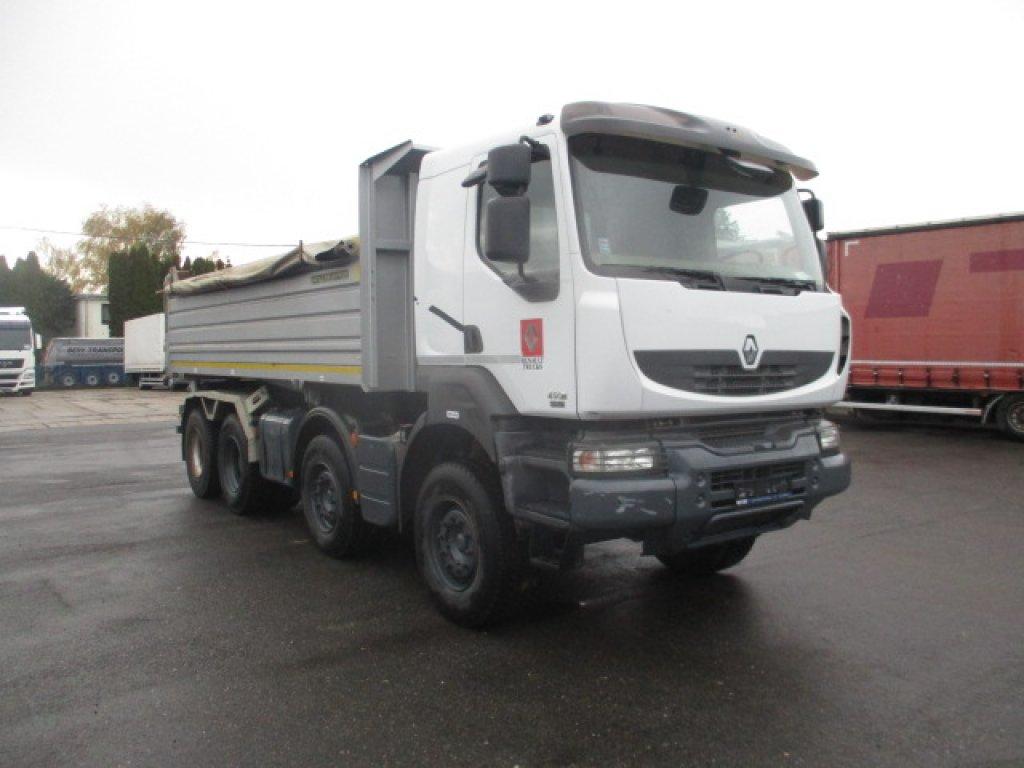 Renault  Kerax 450 DXi EURO 5 8x4 S2