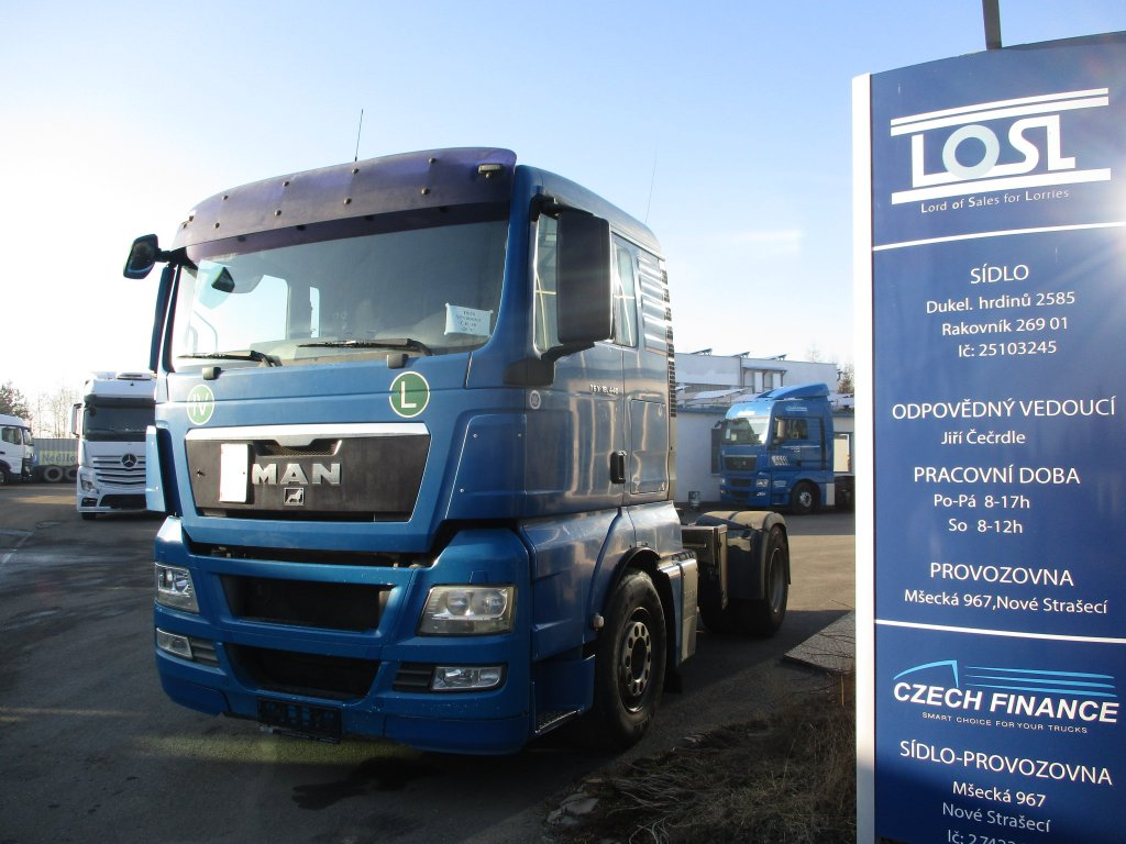 MAN  TGX18.440 EURO 4