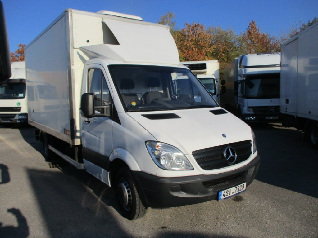 Mercedes-Benz Sprinter 516 CDI vzadu tupláky do 3,5t