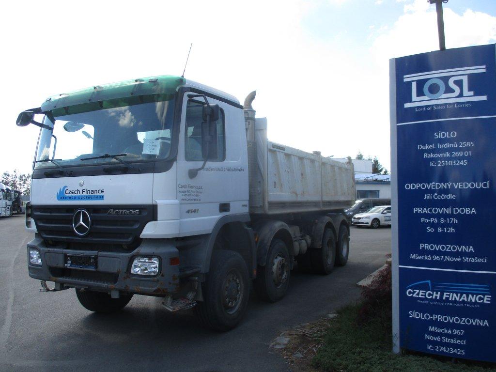 Mercedes-Benz  4141 Actros S3 8x6 EURO 4