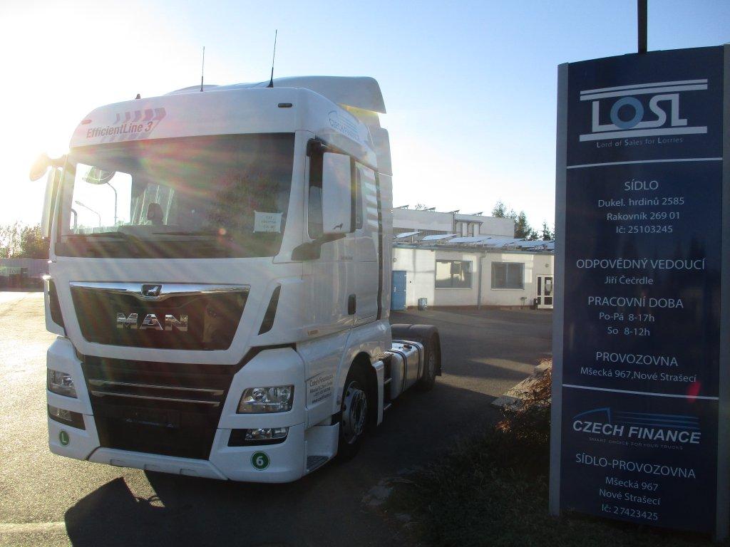 MAN  TGX18.460 EURO 6 MEGA/lowdeck