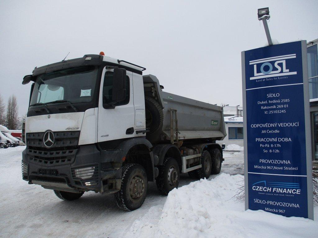 Mercedes-Benz  4145 Actros 8x6 EURO 6