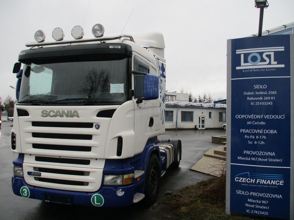 Scania  R420 EURO 3