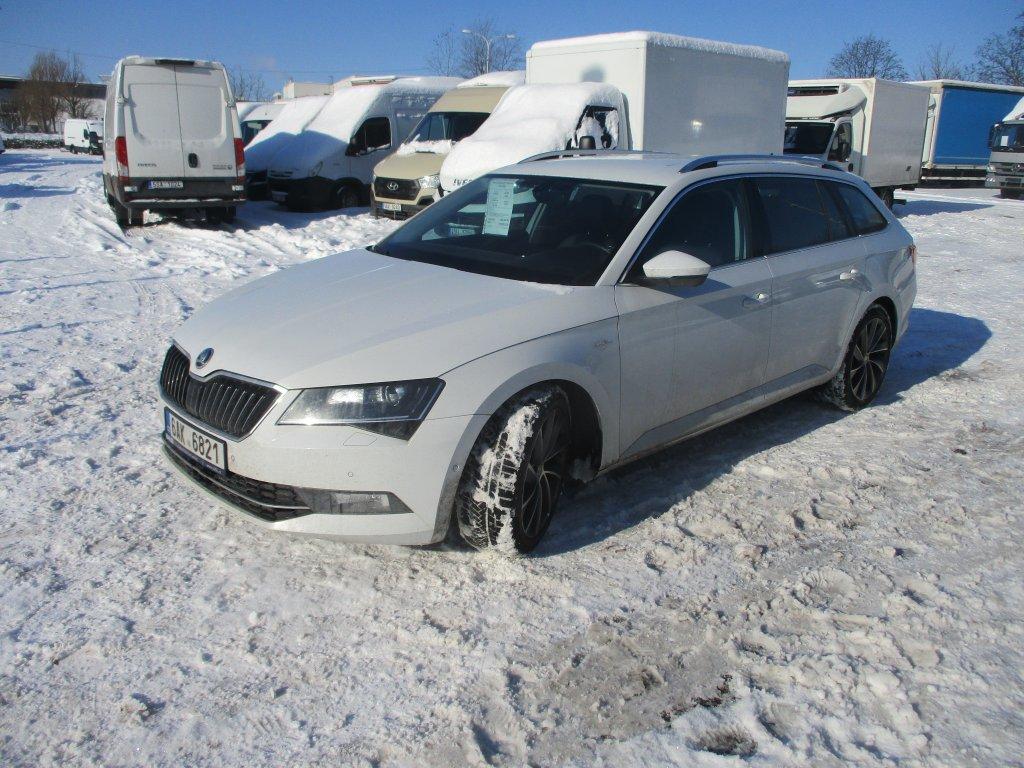 Škoda Superb 2.0 Tdi 140kw 4x4 L&k Combi