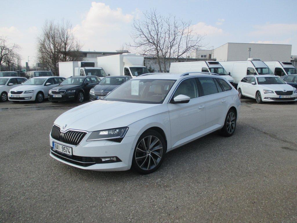 Škoda Superb 4x4 L&k Combi 2.0 Tdi