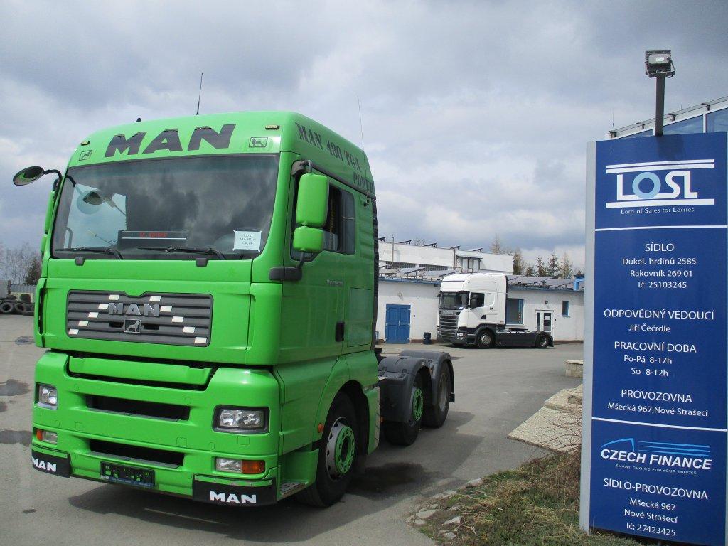 MAN  TGA26.480 6x2 EURO 3