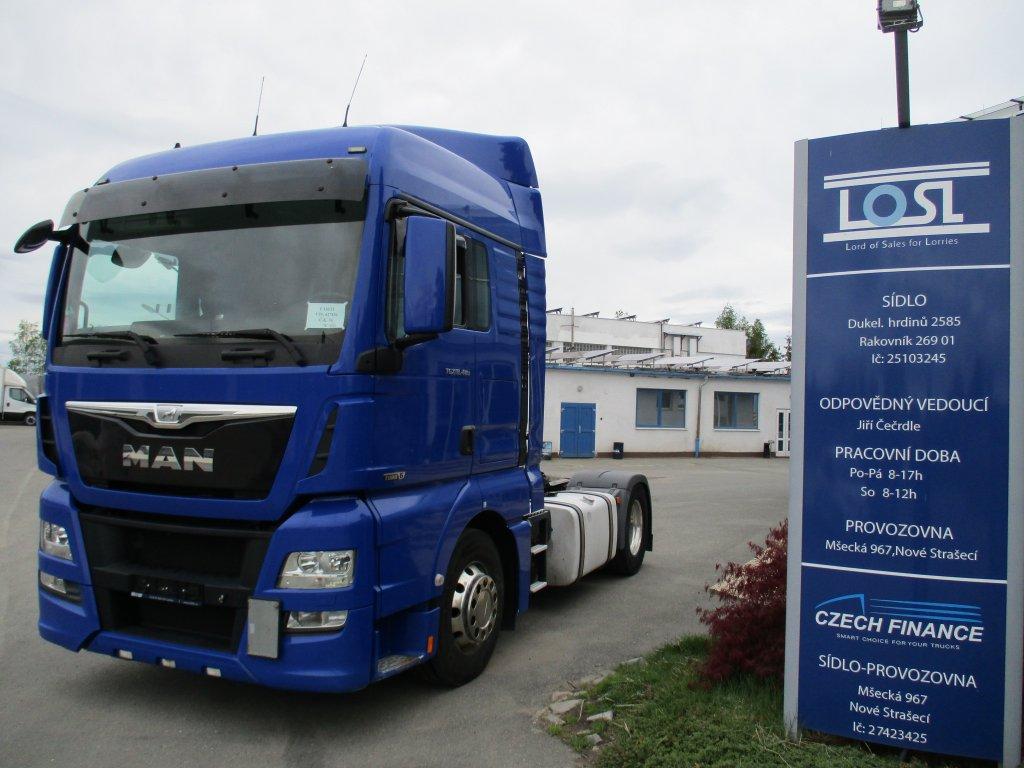 MAN  TGX18.480 EURO 6 Retarder