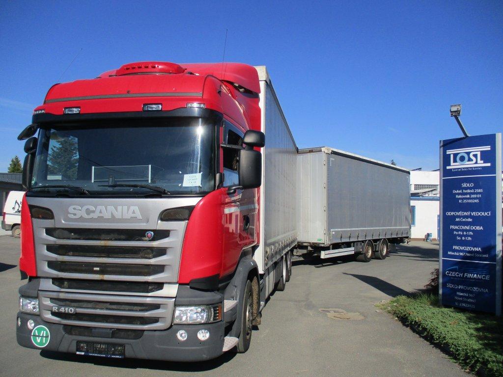 Scania  R410 6x2 EURO 6 + GTS