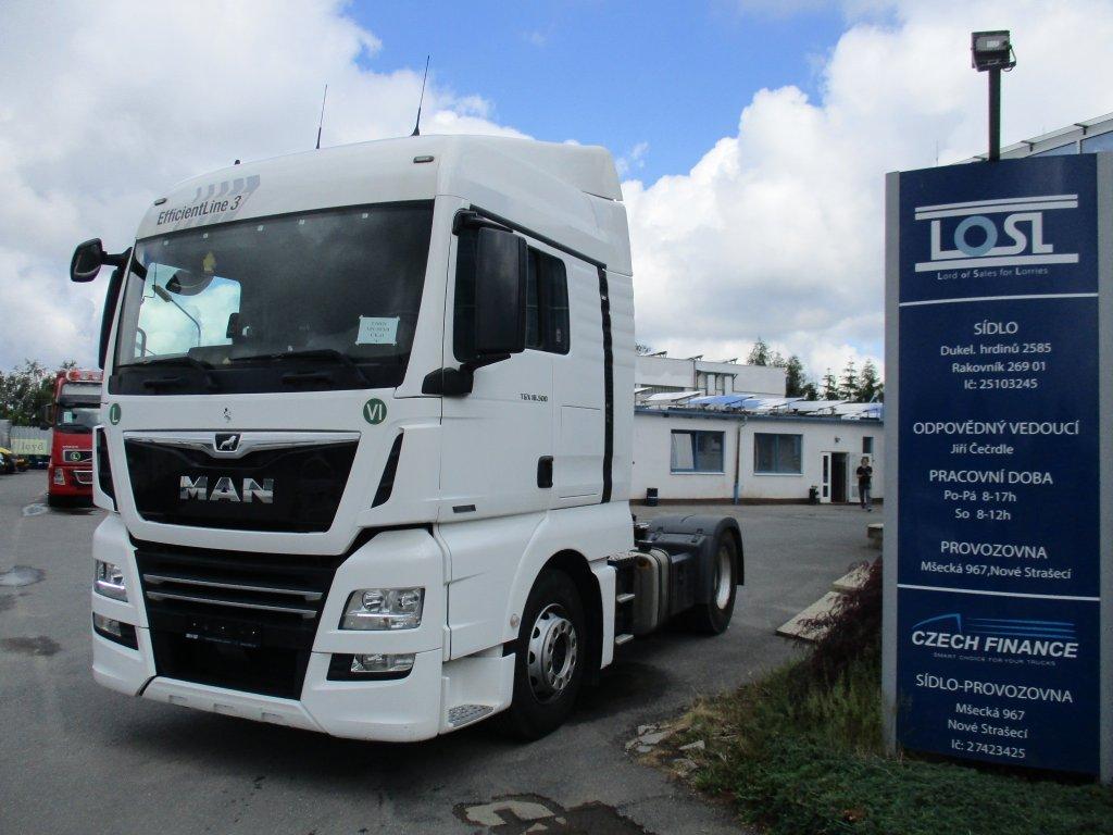 MAN  TGX 18.500 EURO 6 + HYDRAULIKA
