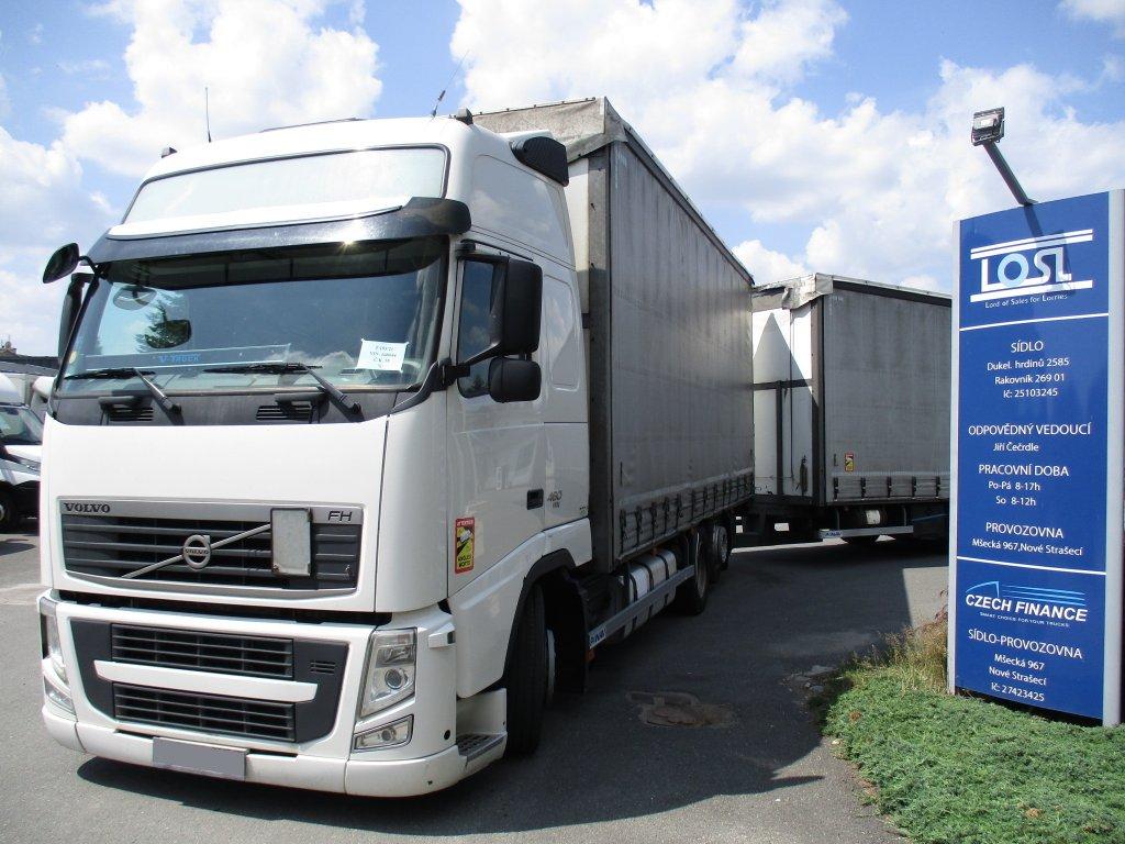 Volvo  FH13 460 Globetrotter XL 6x2 + Panav 120 cbm