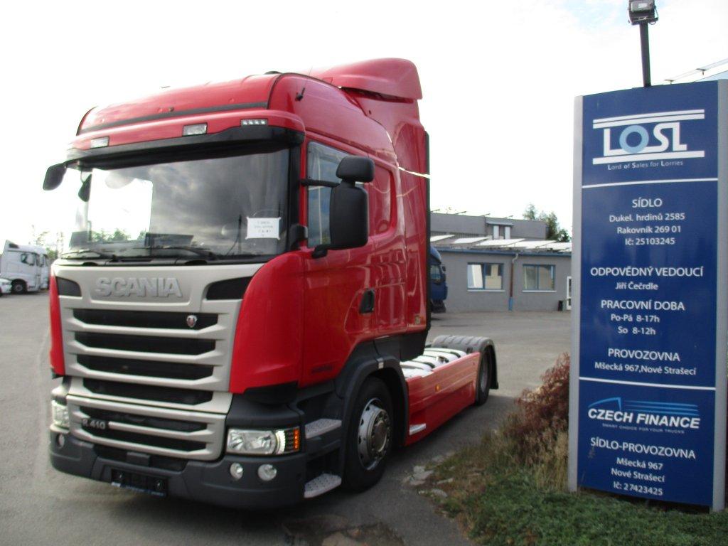 Scania  R410 EURO 6 MEGA/lowdeck