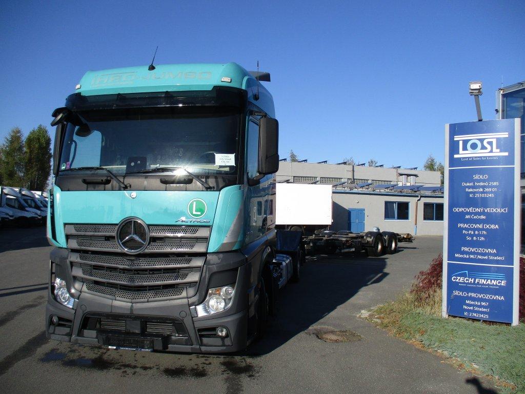Mercedes-Benz  2542 Actros EURO 6 6x2 + HaW BDF