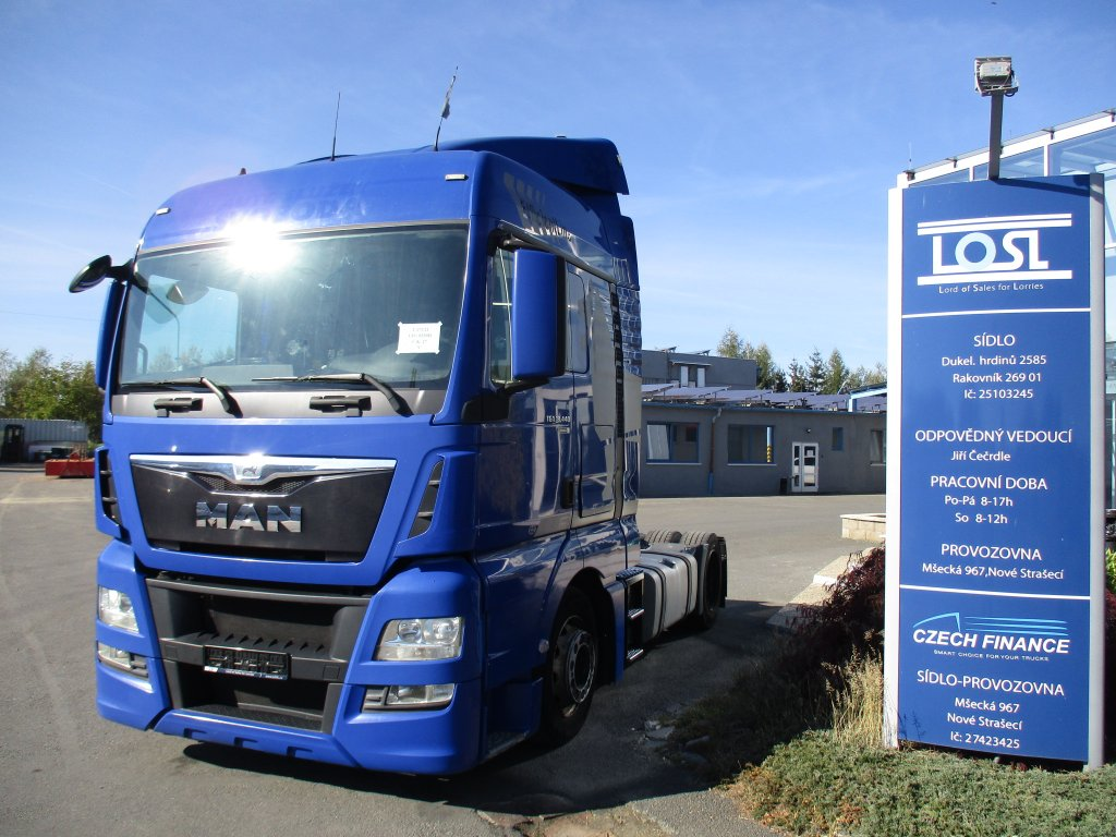 MAN  TGX18.480 EURO 6 MEGA/lowdeck