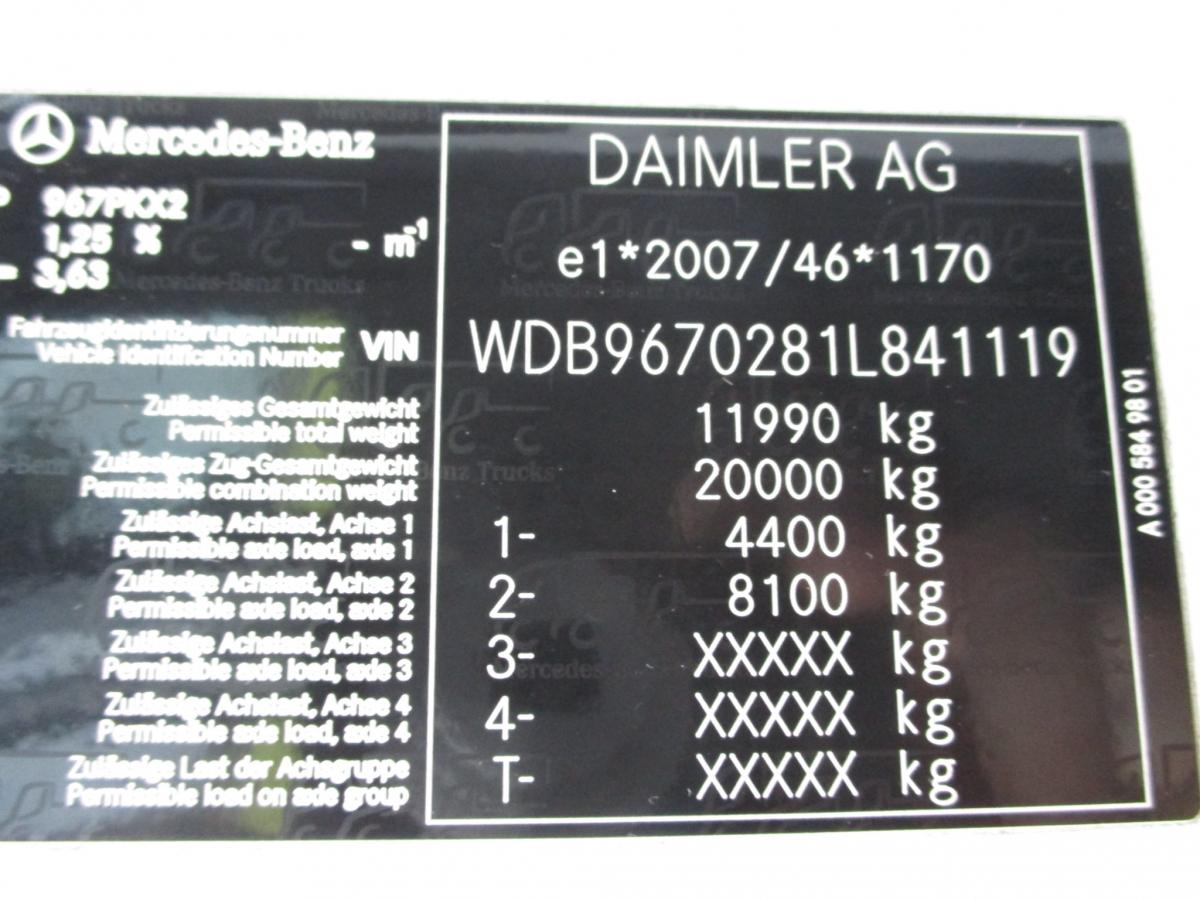 Mercedes-Benz  Atego 1223 Euro 6