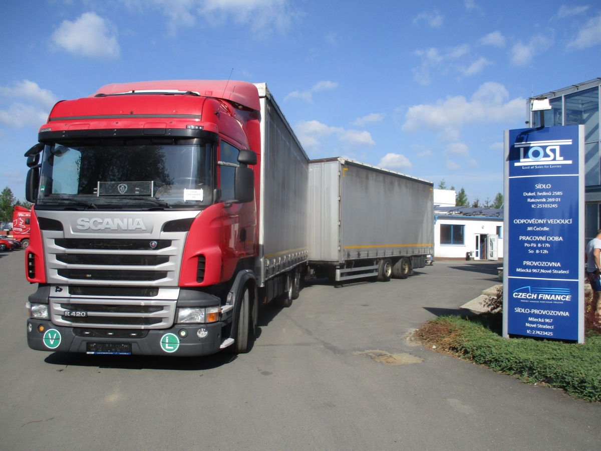 Scania  R420 EURO 5 6x2