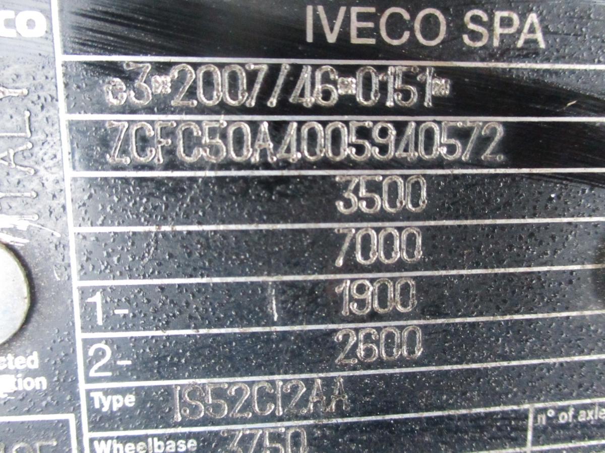 Iveco Daily 50C15 celková váha 3,5t