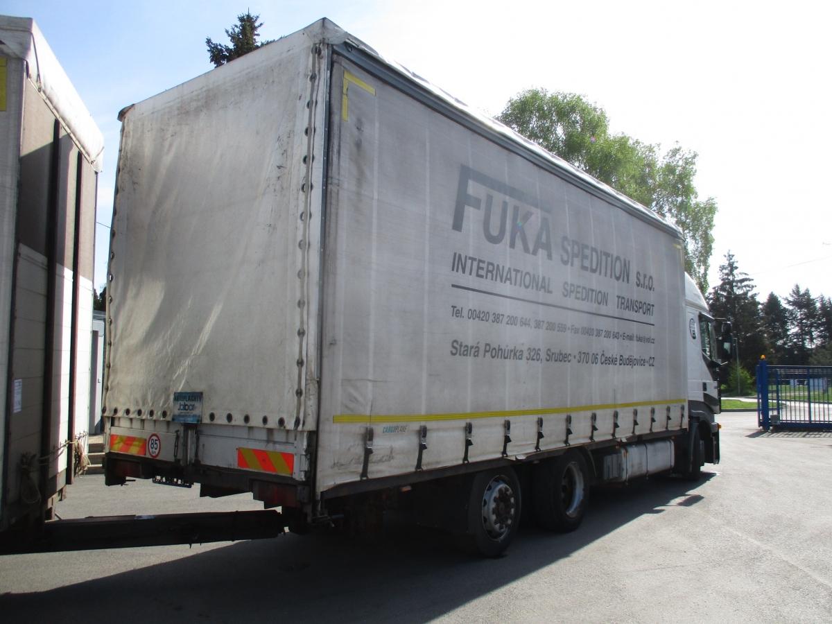 Iveco  260S43 Stralis EURO 3 + Svan