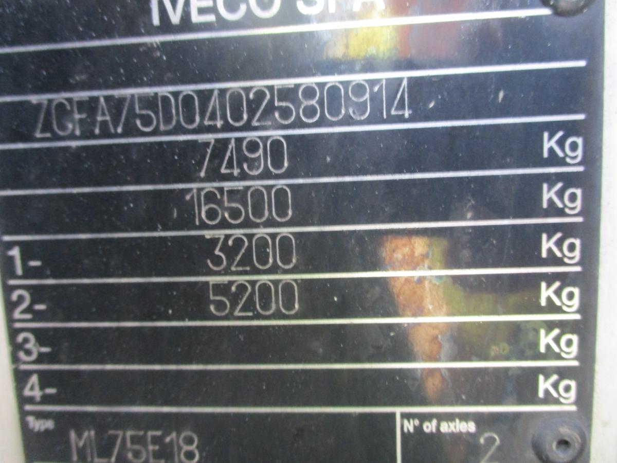 Iveco Iveco 75E18 Eurocargo EURO 5