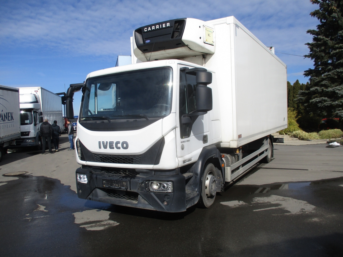 Iveco  120-280 EURO 6 Agregat Carrier Supra 750