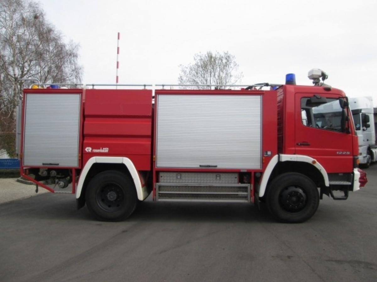 Mercedes-Benz  Atego 1225 4x4