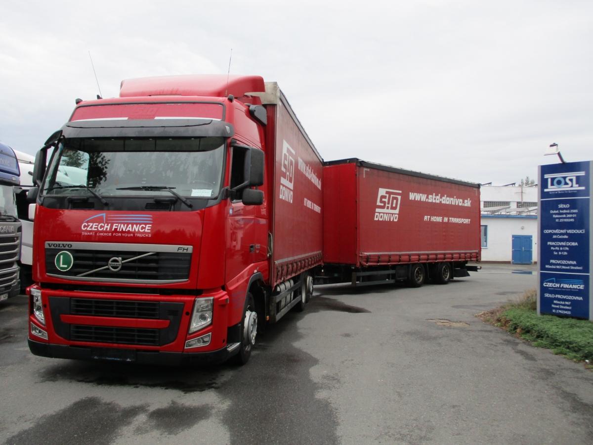 Volvo  FH13.500 6x2 EEV + Schmitz