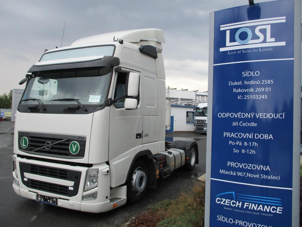 Volvo  FH13.420 EURO 5 MEGA/lowdeck