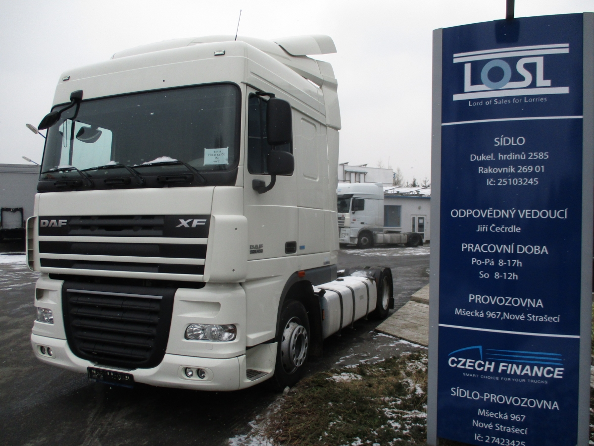 DAF  XF105.460 Spacecab lowdeck  ATe