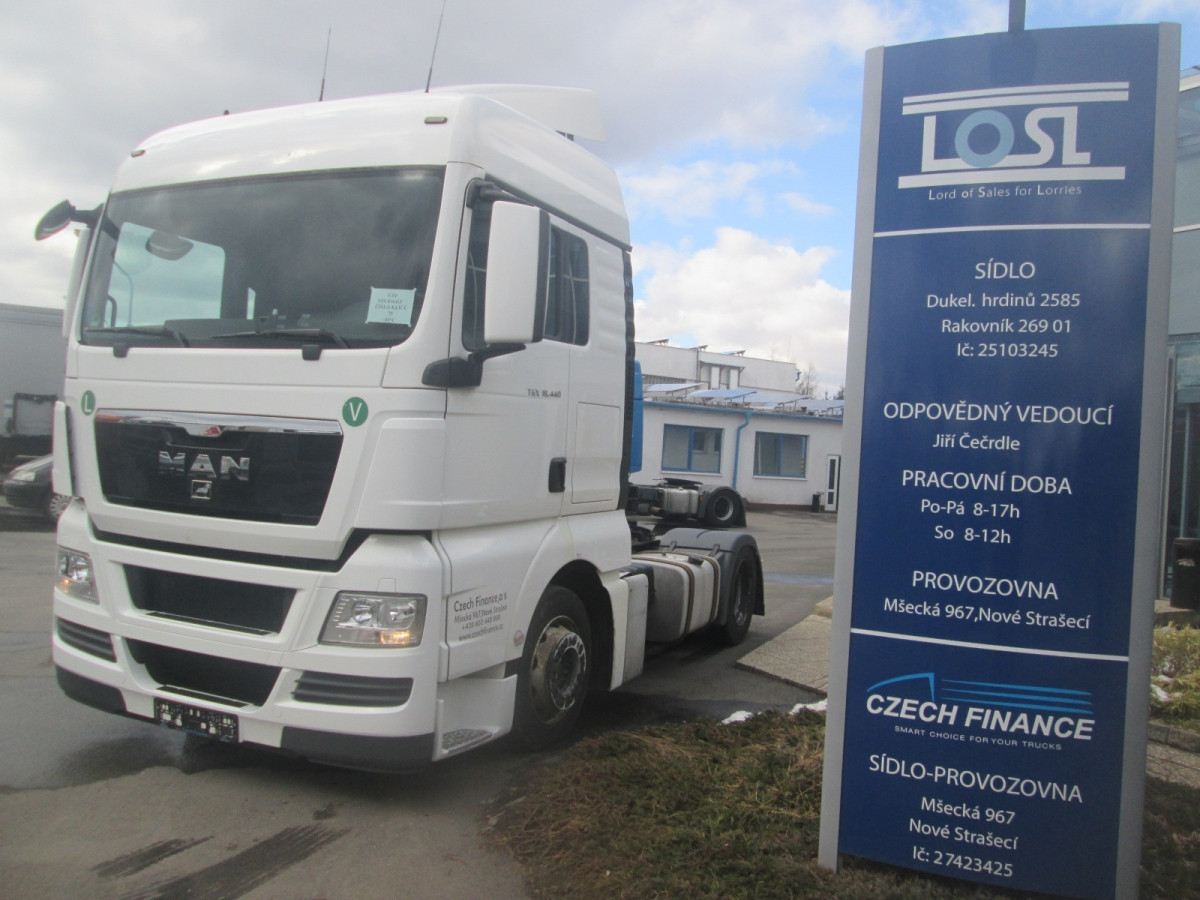 MAN  TGX18.440 EURO 5 MEGA-lowdeck