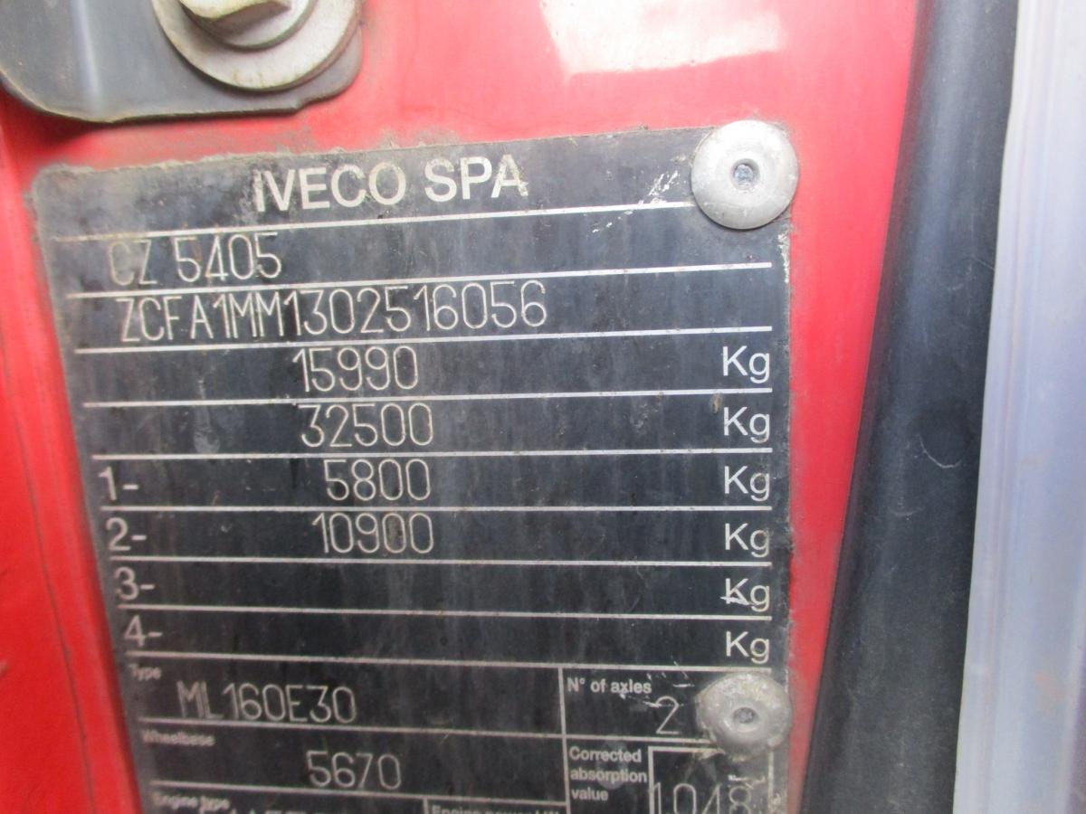 Iveco  ML 160E30  18 palet
