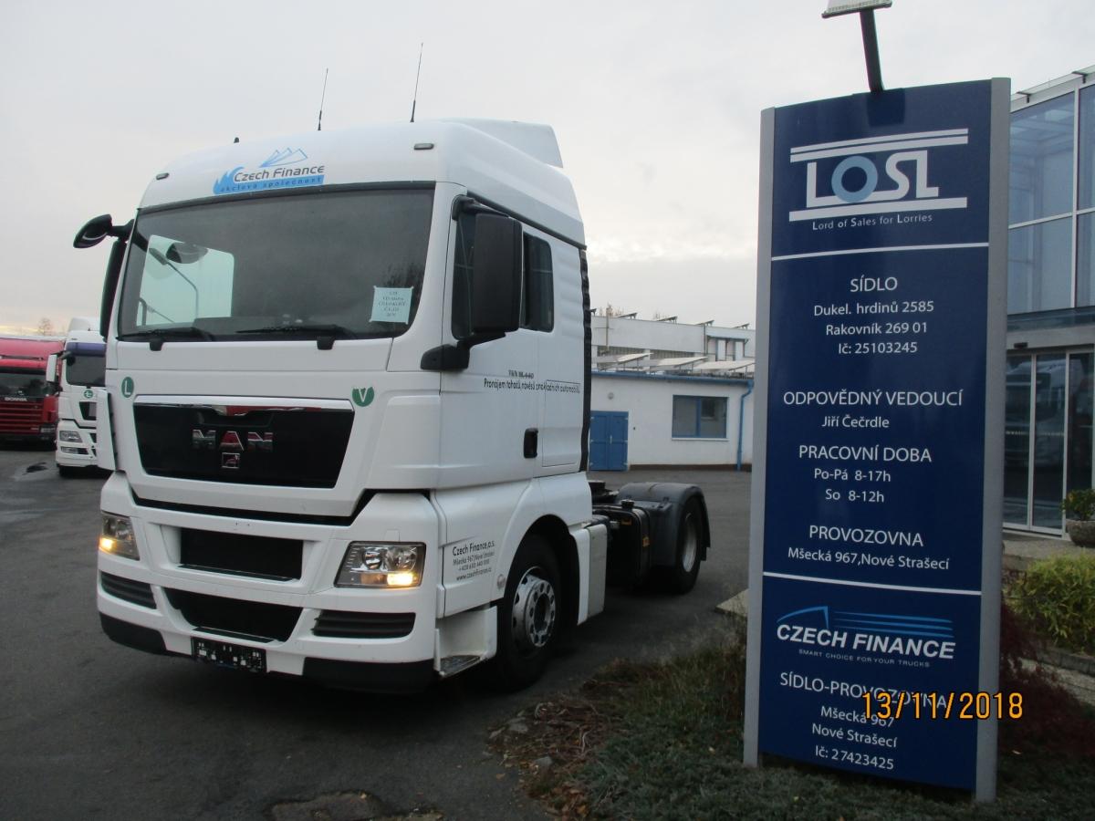 MAN  TGX18.440 EURO 5