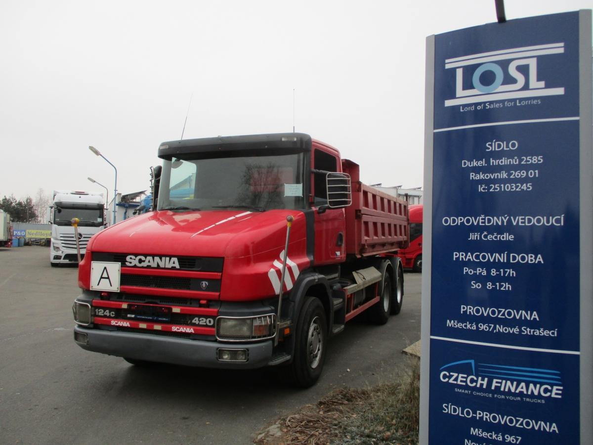 Scania  124C420 6x4 EURO 3
