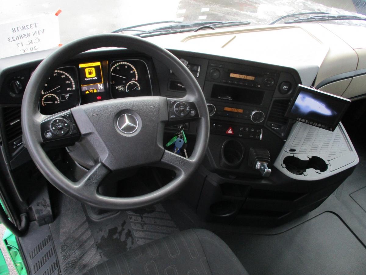 Mercedes-Benz  2548 Actros 6x2 EURO 6 BDF
