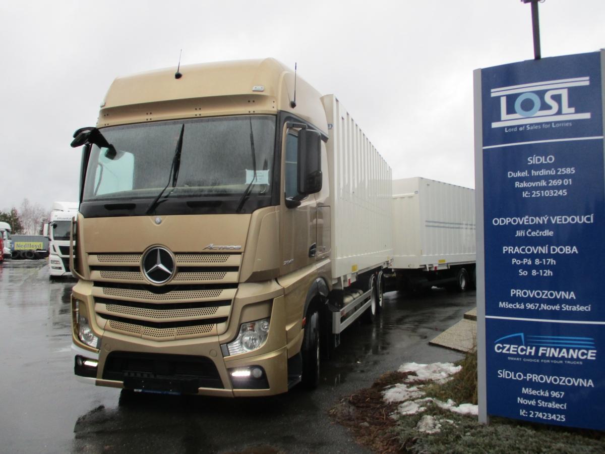 Mercedes-Benz  2548 Actros EURO 6 6x2 BDF + Schmitz