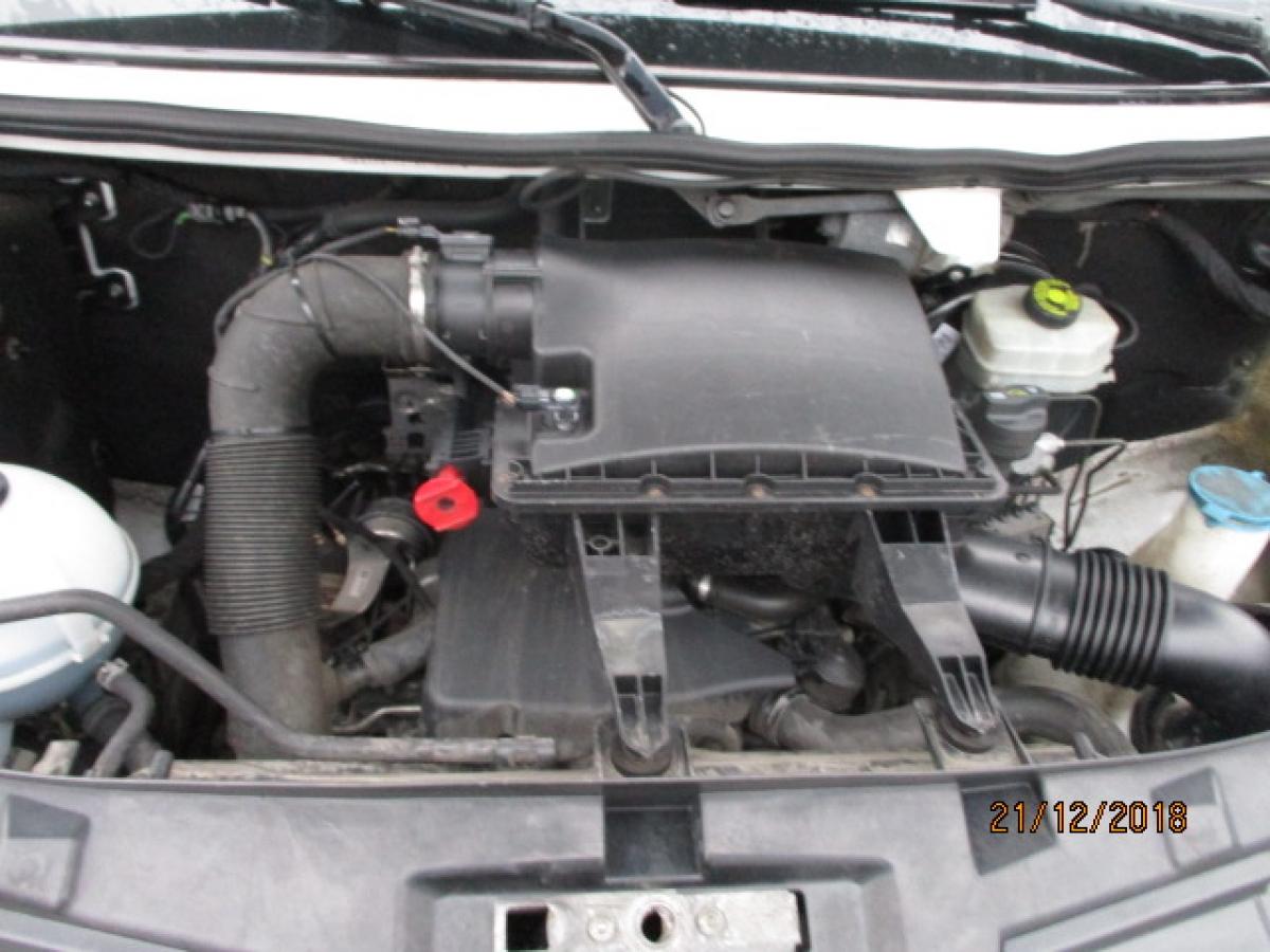 Mercedes-Benz  516 CDi, 8 palet, hydraulické čelo