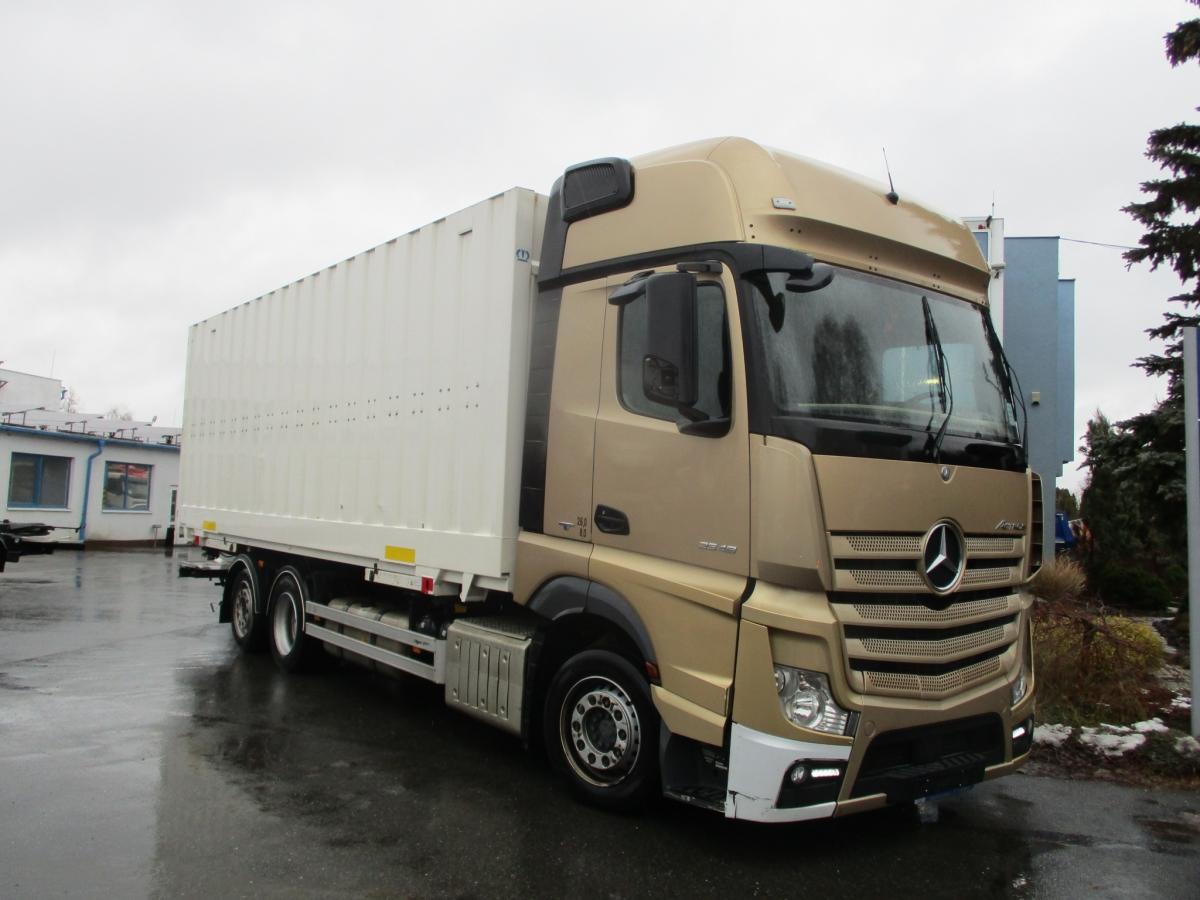Mercedes-Benz  2548 Actros EURO 6 6x2 BDF