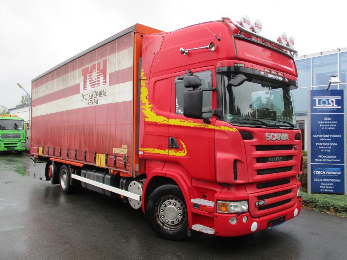 Scania  R420 Topline 6x2 BDF Euro 5