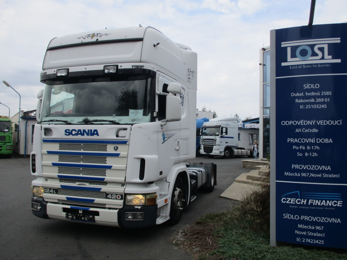 Scania  124L420 EURO 3 MEGA/lowdeck