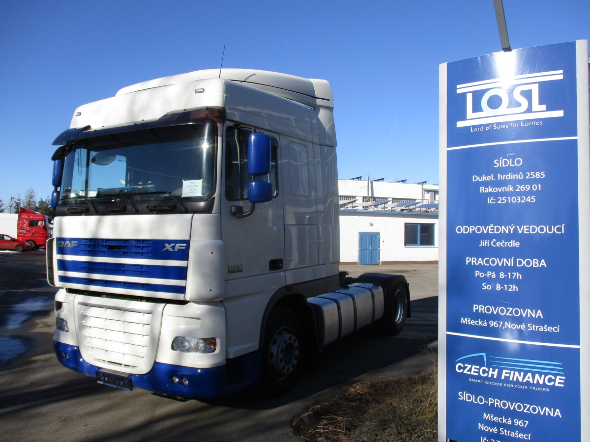 DAF  XF105.460 Spacecab manual+retarder