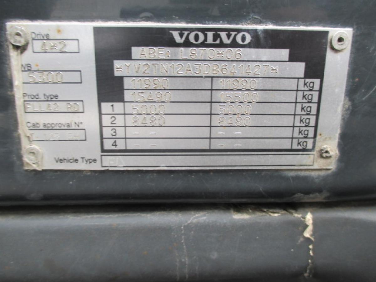 Volvo  FL 12.240 18 palet