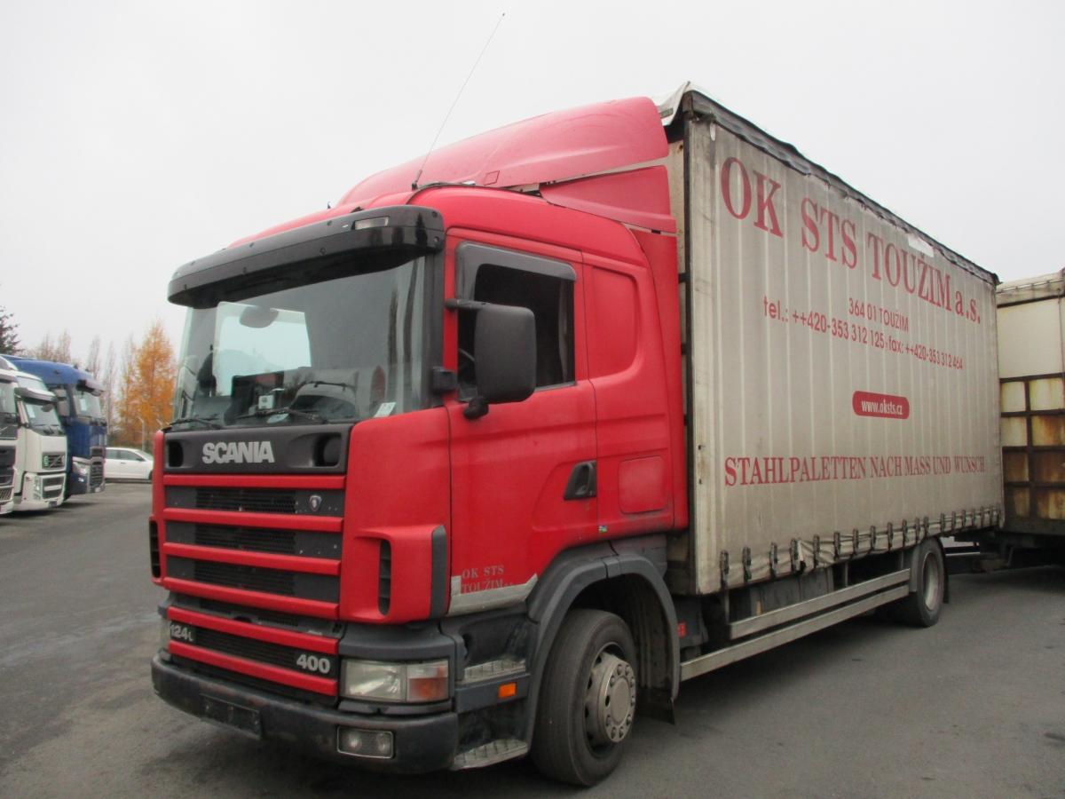 Scania  124L400 EURO 3