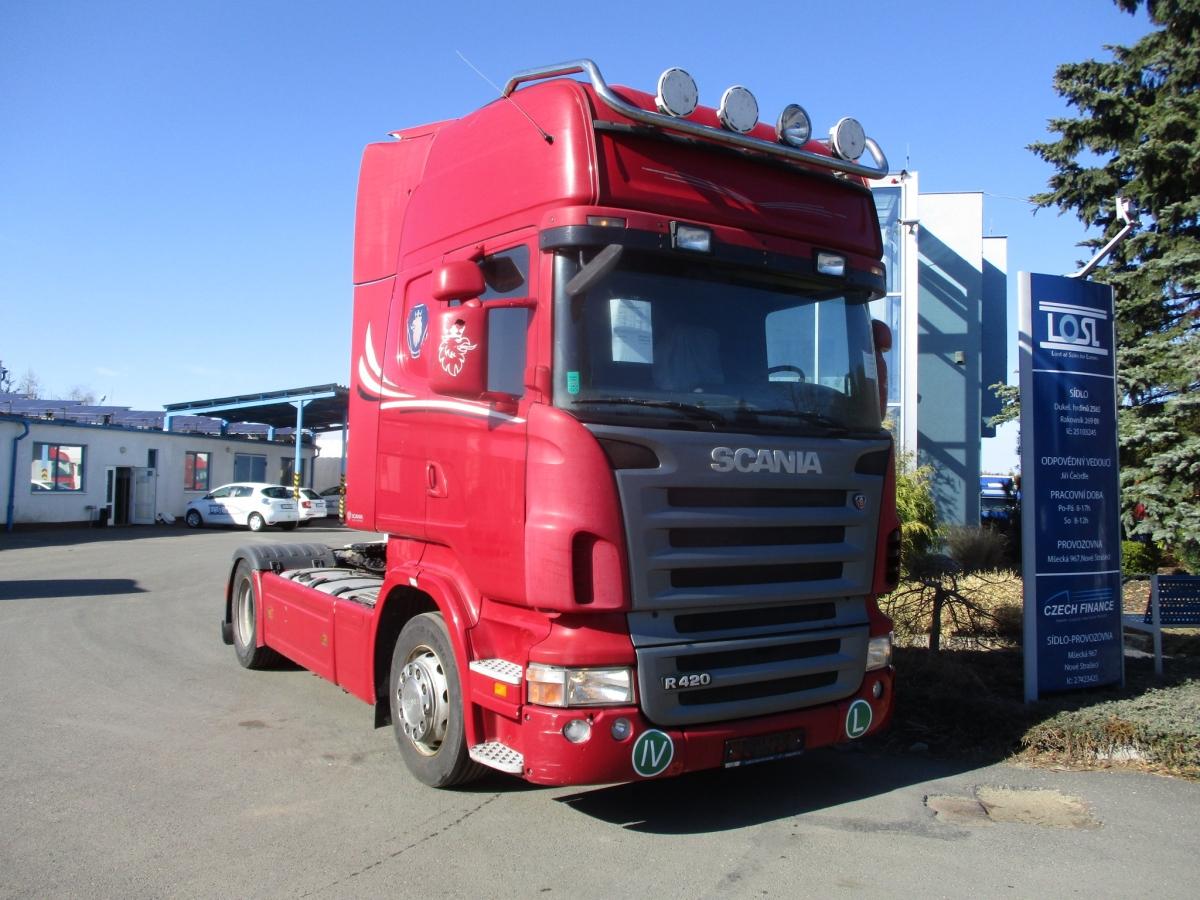 Scania  R420 EURO 4