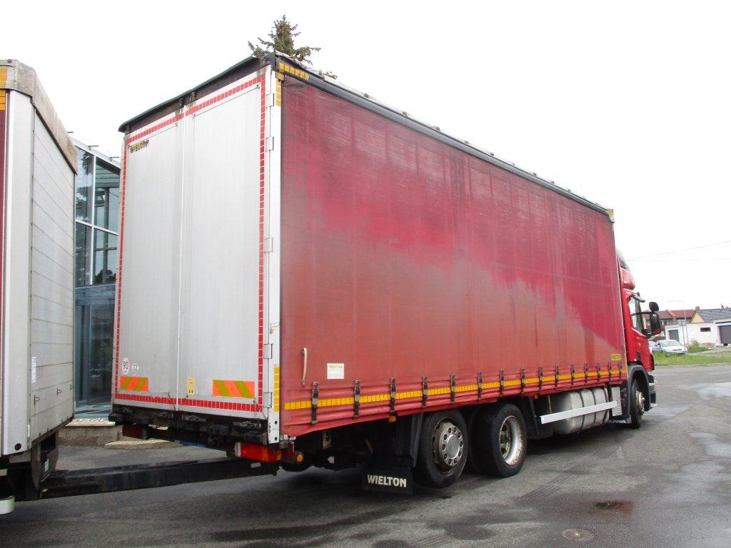 Scania  P420 6x2 EURO 3 + Wileton