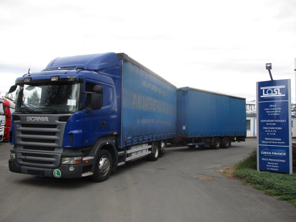 Scania  R420 6x2 EURO 4 + Panav